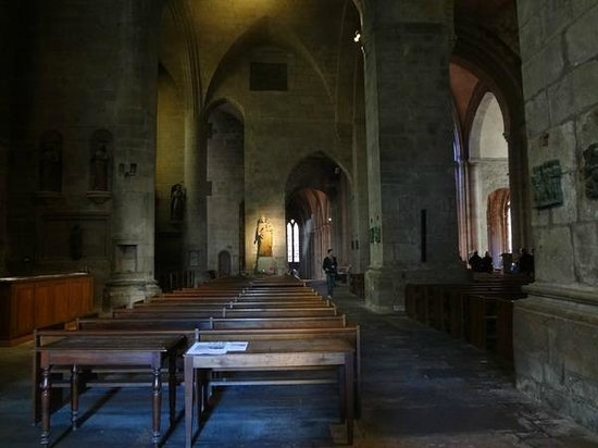 Saint-Vincent -- Saint-Malo : Интерьеры Собора
