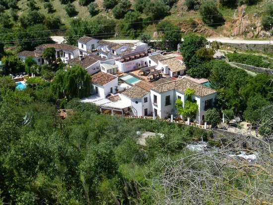 Molino del Santo: Aerial shot taken from the hills.
