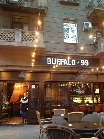 Buffalo 99: From outside sitting area.
