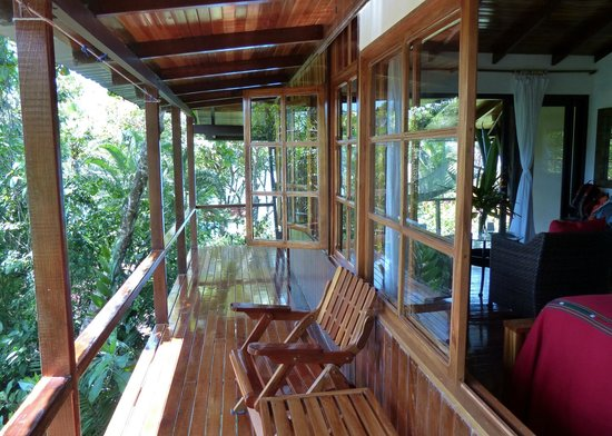 La Paloma Lodge : Private balconies