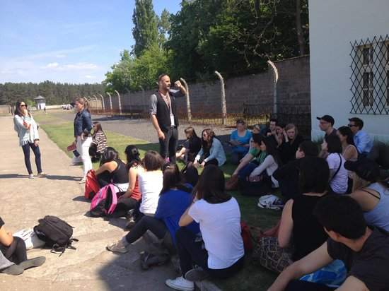 SANDEMANs NEW Europe - Berlin: Sachsenhausen memorial tour with George, 30 April 2014