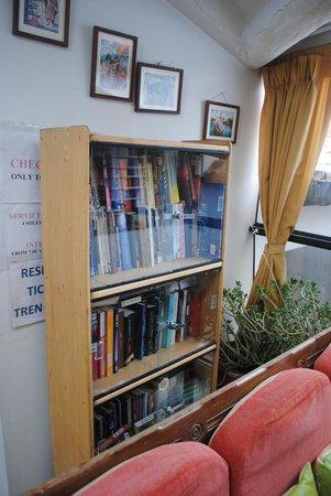 Samanapata Comfort Hostel: intercambio de libros!