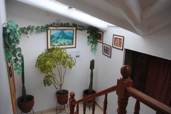 Samanapata Comfort Hostel: arte andino