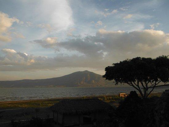 Hotel Balneario San Juan Cosala : La vista del Lago desde el SPA