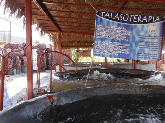 Hotel Balneario San Juan Cosala : El SPA Tlalocan