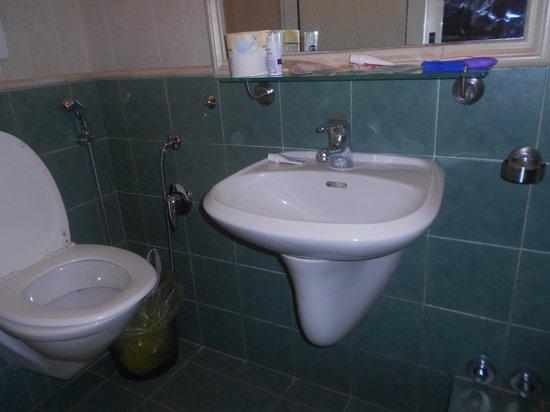 Hotel Alius: bathroom, room 8