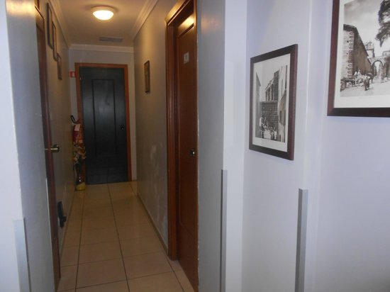 Hotel Alius : entrance