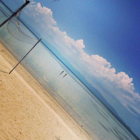 Phangan Beach Resort : Sublime views to Samui