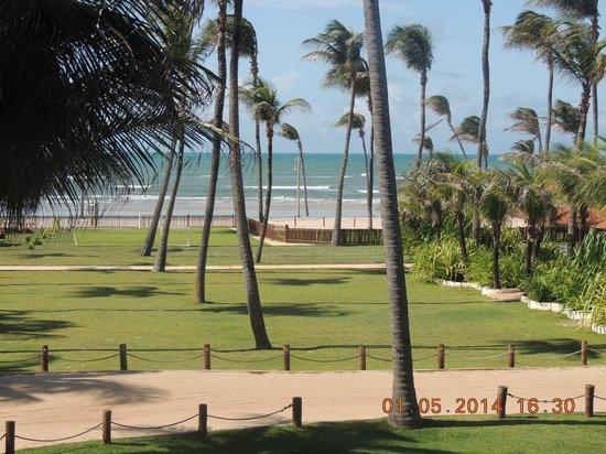 Rede Beach: vista mar e jardim