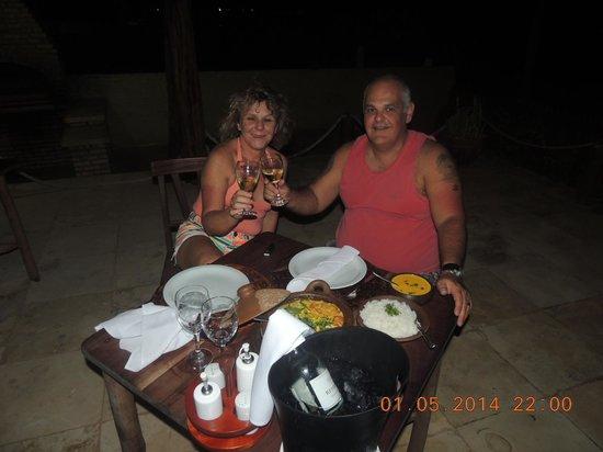 Rede Beach: jantar no restaurante