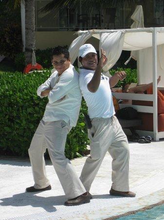 Now Jade Riviera Cancun Resort & Spa: Rafael & Miguel