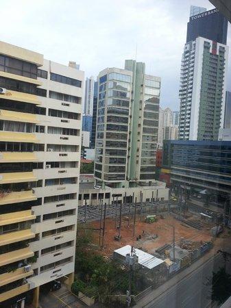 Holiday Inn Express Panama Distrito Financiero: Vista desde nuestra habitacion