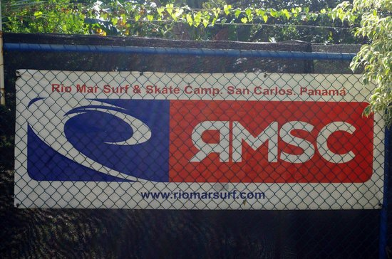 Rio Mar Surf Camp : Front of Camp