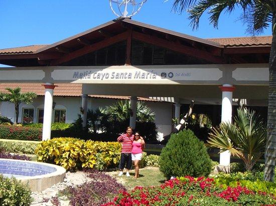 Melia Cayo Santa Maria : Entrada del hotel