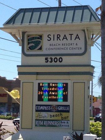 Sirata Beach Resort: Sirata sign