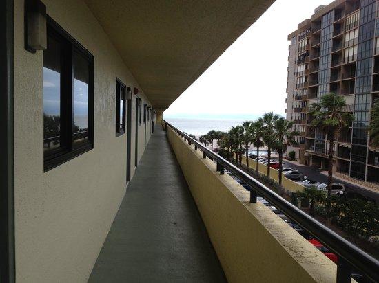 Sirata Beach Resort: Room balcony