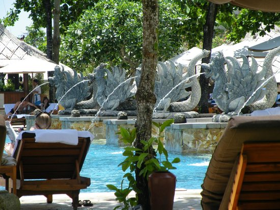 AYANA Resort and Spa: pool from sunlounger