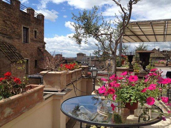 Made in Rome Bed&Breakfast: terrazza