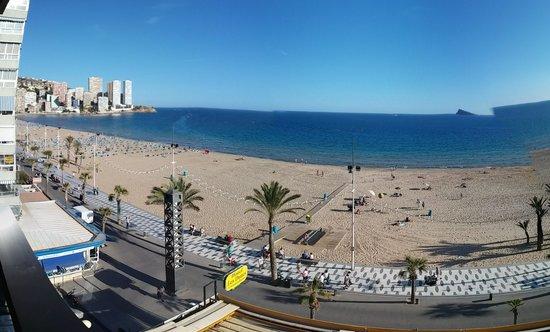 Les Dunes Comodoro Hotel: vistas al mar