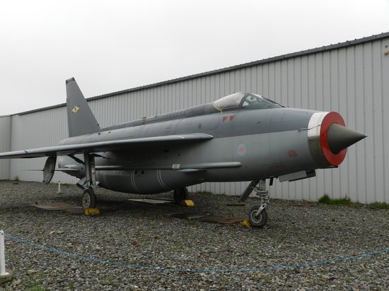 North East Land, Sea and Air Museum: English Electric Lightning