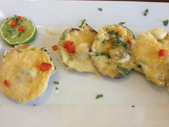 El Pollo Inka Miami: Conchas a la Parmesana