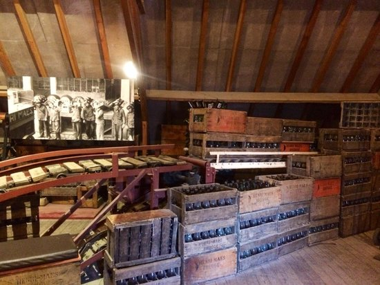 De Halve Maan Brewery : Part of the tour