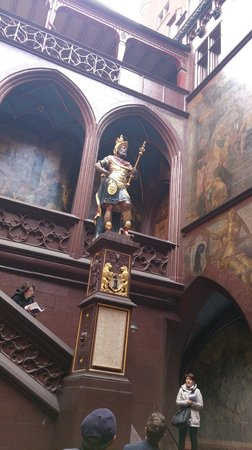 Altstadt: scalinata interna