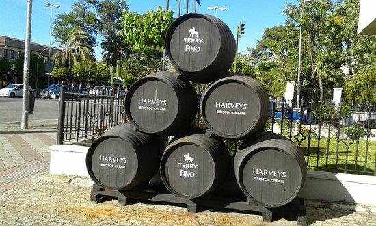 Sherry barrels, NH Avenida Jerez.  Empty!