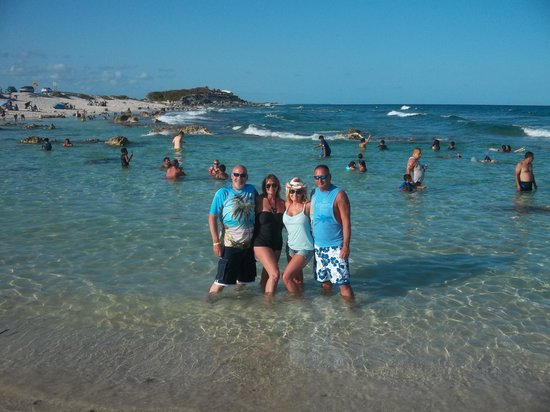 Dune Buggy Tours: The beach we stop at !!