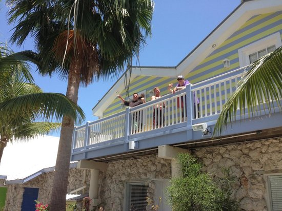 Ibis Bay Beach Resort: Our second floor balcony