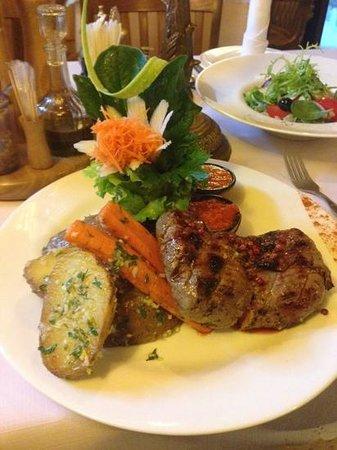 "Stora Antis: 400g steak ""perfect"""