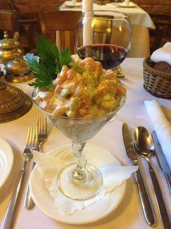 Stora Antis: Shrimp coctail