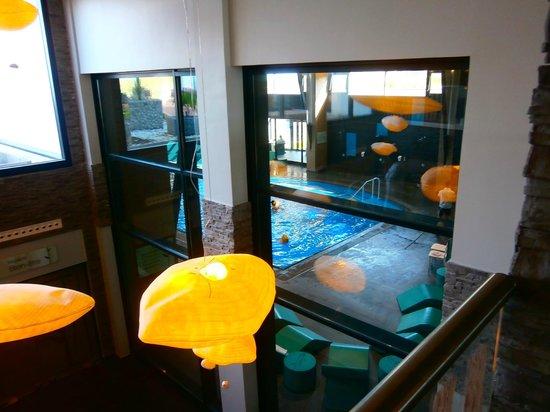 Hôtel les bains de Cabourg : piscine intérieure