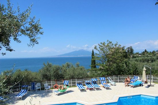 International Camping Nube d'Argento: Blick vom Pool