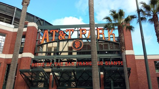 AT&T Park : Front entrance