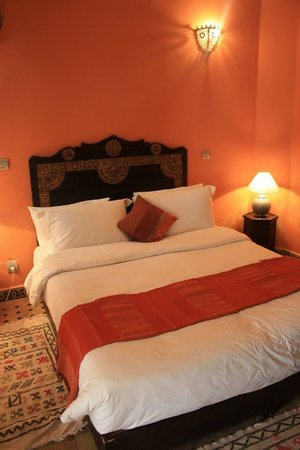 Riad Shemsi: Orange Bedroom