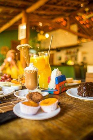 Pousada Raizes do Brasil: café da manhã