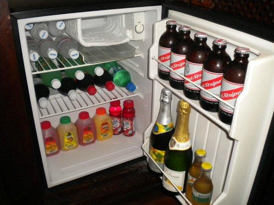 Sandals Royal Plantation: fridge