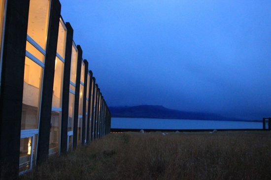 Remota: Striking view from the lobby/dining