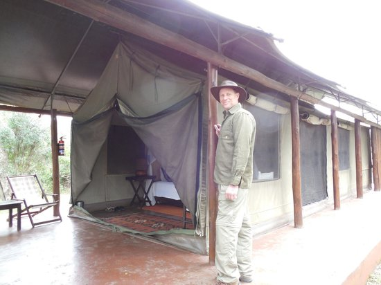 Thula Thula Exclusive Private Game Reserve and Safari Lodge: Our tent