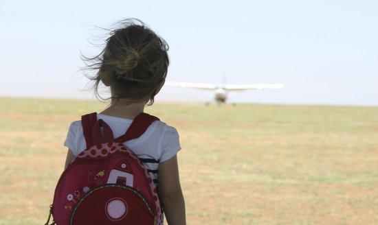 Naboisho Camp, Asilia Africa: Waiting for the plane