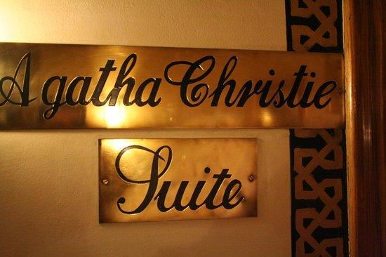Sofitel Legend Old Cataract Aswan: Suite de Agatha Christie