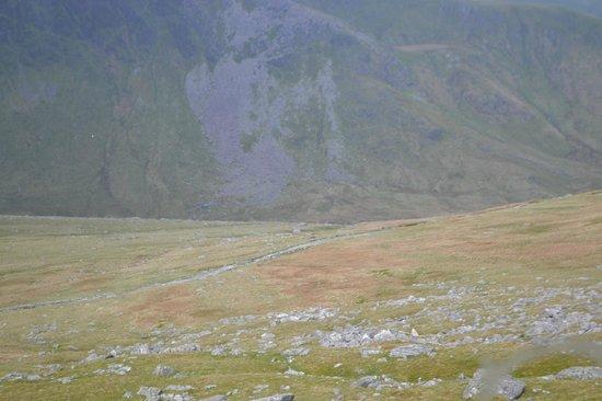 Snowdon Mountain Railway : view to top