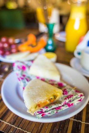 Pousada Raízes do Brasil: café da manhã