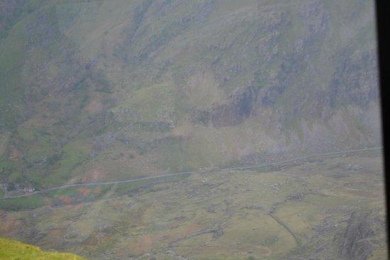 Snowdon Mountain Railway : view from train