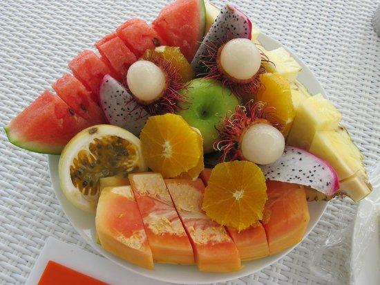 Diamonds Athuruga : Frutta di Benvenuto