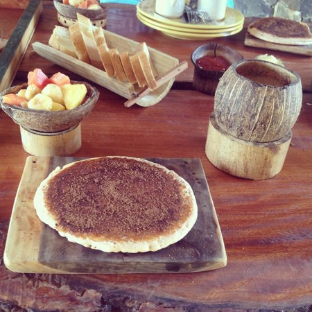 Chalet Tropical Village: Pancakes ummm