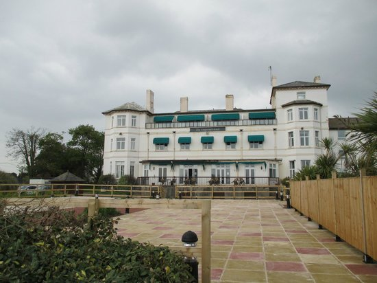 The Imperial Exmouth Hotel: from the promenade