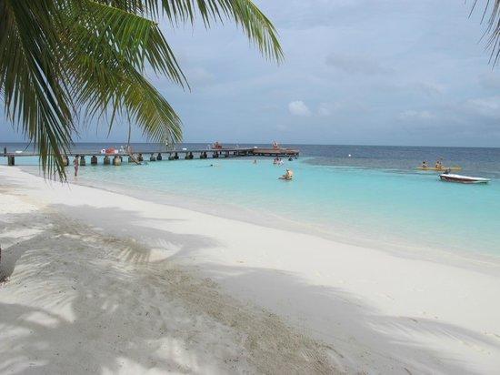 Diamonds Athuruga : spiaggia