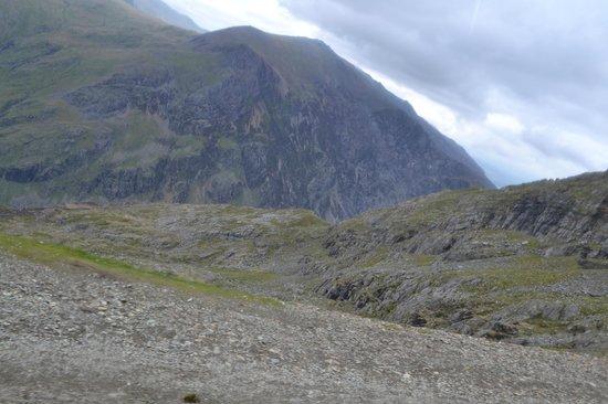 Snowdon Mountain Railway : View